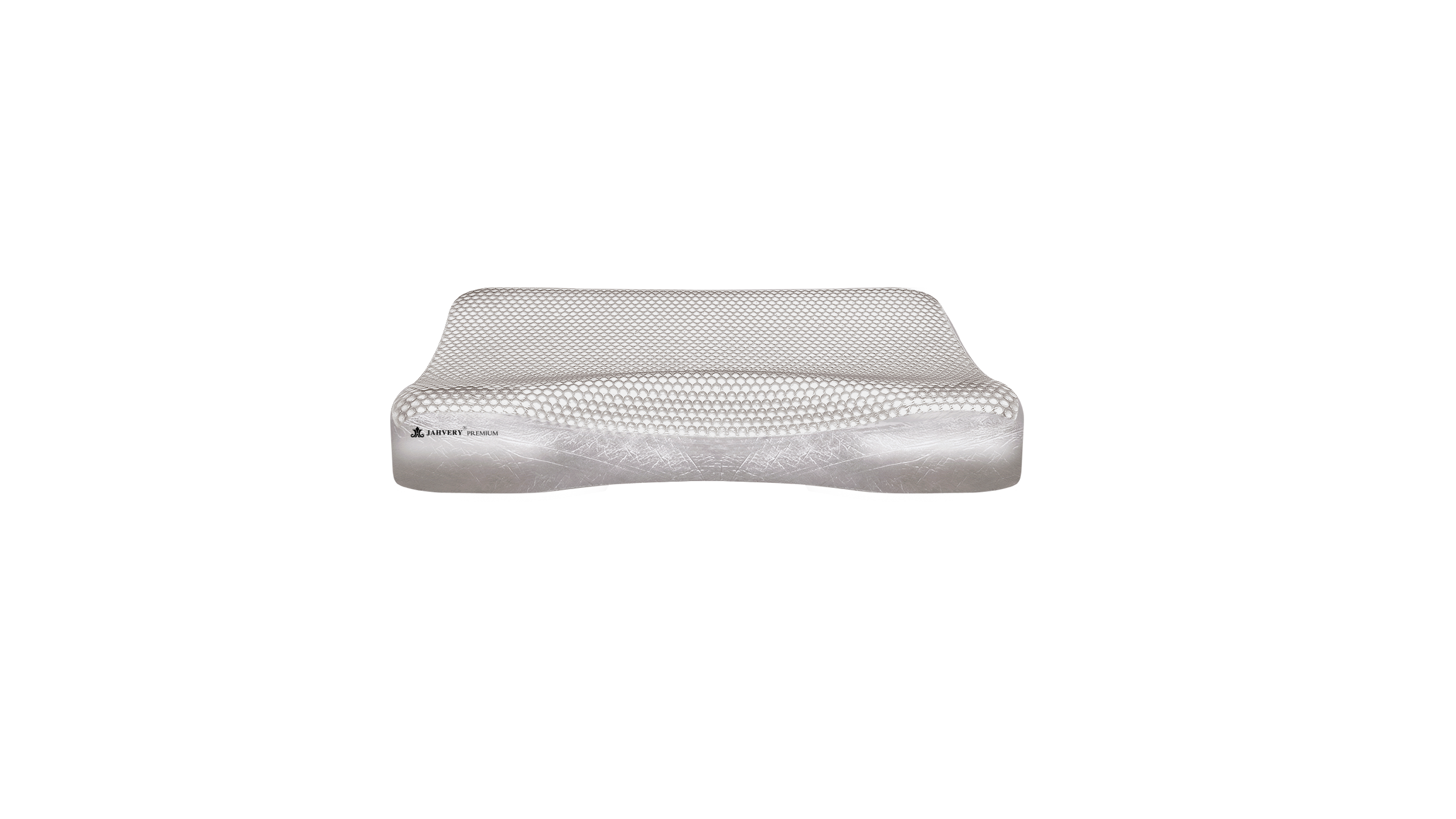 jahvery lawrenthie high-end series crystal gel suspending bone-shape cervical care pillow
