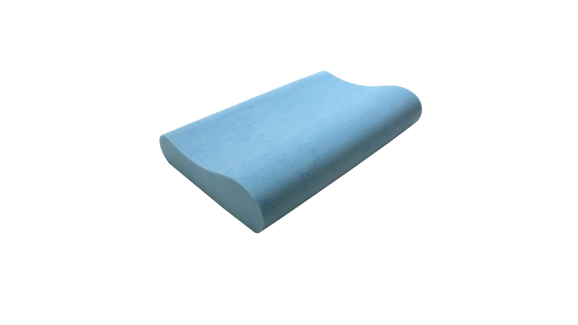 Blue Fairy Particle Gel High-low 2/3 Series Neck Care Pillow