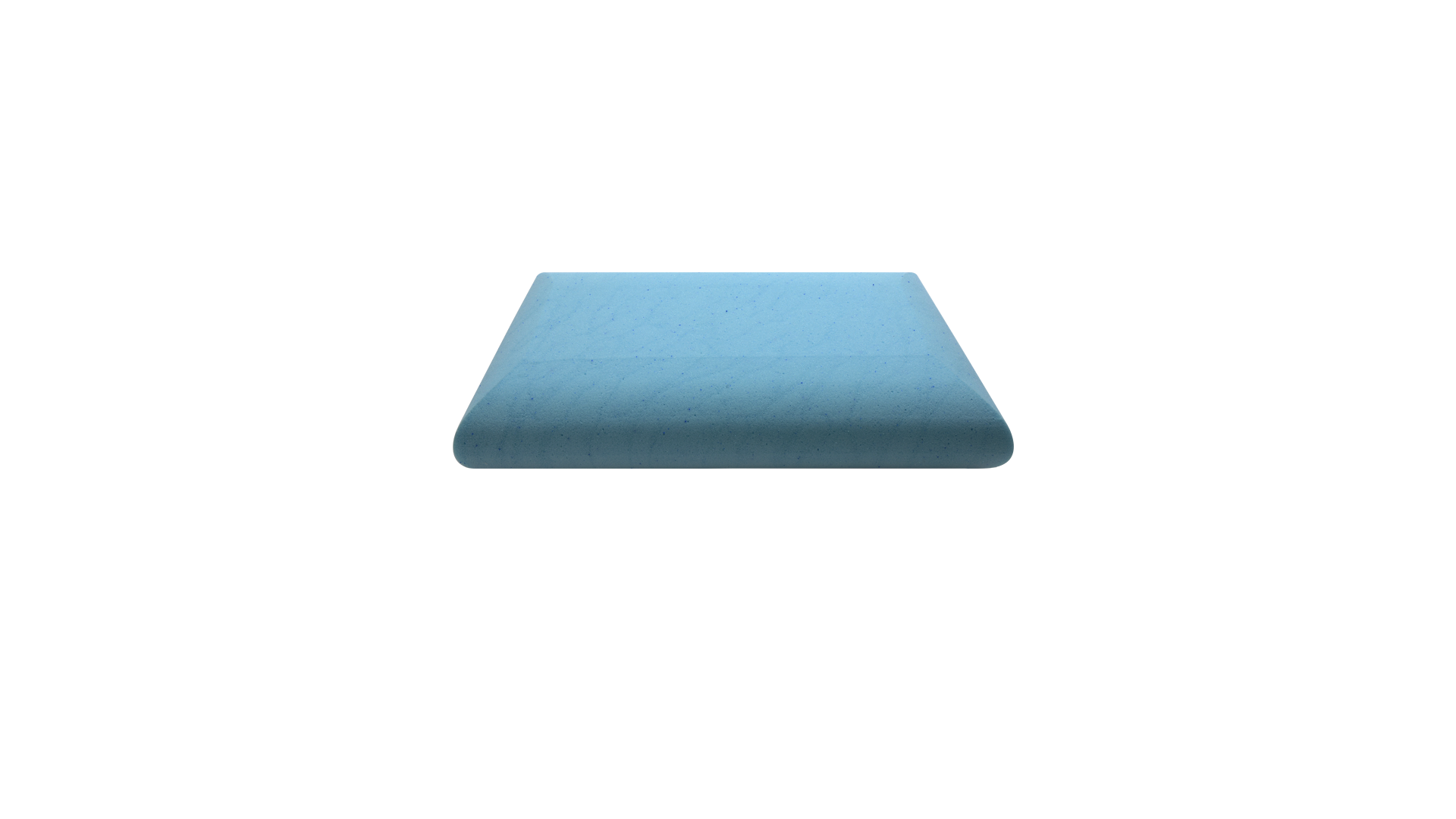 Blue Fairy Particle Gel Memory Pillow